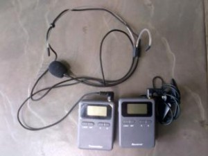 sewa tgs, rental alat tour audio guide, sewa wireless headset headphone earphone